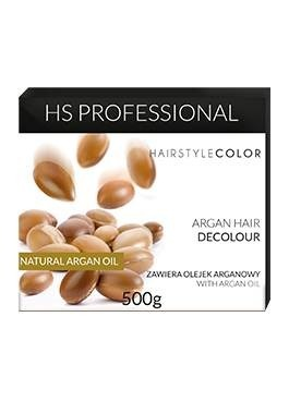 HS Professional Decolorant Natural Argan Oil Rozjaśniacz  500 g